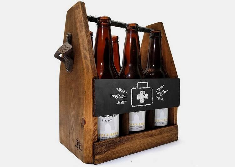 26- Handcrafted Picket Beer Service