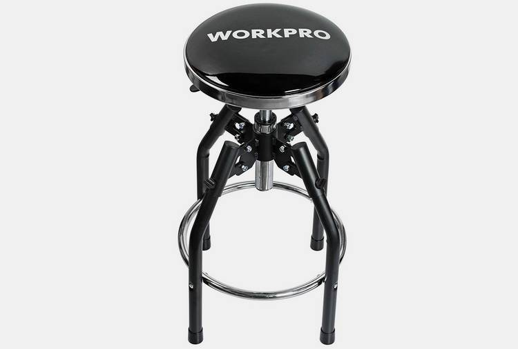 050 workpro heavy duty adjustable work stool