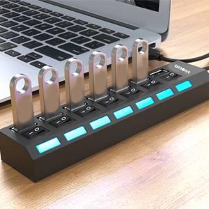 High-Speed Multi-Port USB Splitter - Gadkit