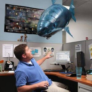 Awesome Remote Control Flying Shark Toy Gadkit