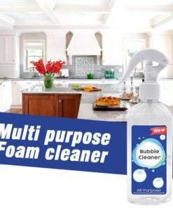 Bathroom Effective Bubble Cleaner Kitchen Grease Removal Practical Stains Detergent Decontamination Non Toxic All Purpose Liquid 2 Multi Purpose Bubble Cleaner