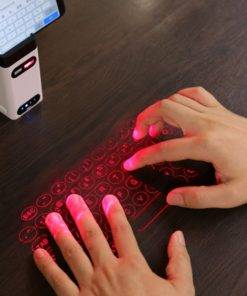 Bluetooth virtual laser keyboard Wireless Projection keyboard Portable for computer Phone pad Laptop With Mouse function 3 Laser Projection Bluetooth Virtual Keyboard and Mouse