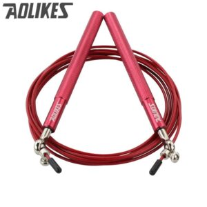 Professional Skipping Rope For MMA Boxing Fitness Skip Workout Training With Carrying Bag Spare Cable