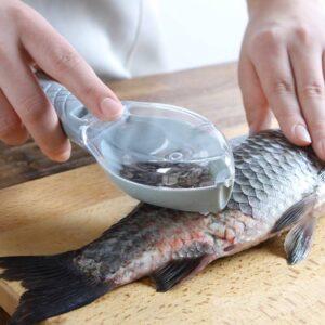 DIY Fish Skin Brush Scraping Fishing Scale