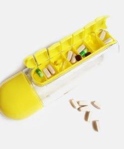 Hca5b1e98a54e45b78d0b59b798755162O 600 ML Water Bottle With Pill Organizer