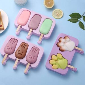 Paw Ice Pops Mold