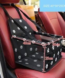 Pet Dog Car Carrier Seat Bag Waterproof Basket Folding Hammock Pet Carriers Bag For Small Cat 5 DIY Foldable pet car seat