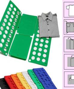 Quality Adult Magic Clothes Folder T Shirts Jumpers Organiser Fold Save Time Quick Clothes Folding Board 2 DIY Clothes Folder  - T Shirts Jumpers Organiser