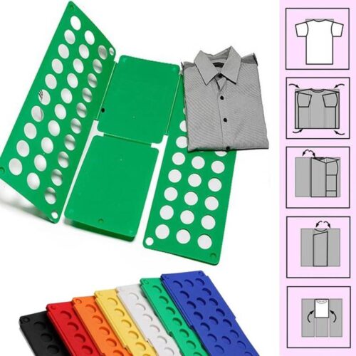 DIY Clothes Folder  – T Shirts Jumpers Organiser