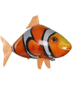 Remote Control Shark Toys Air Swimming Fish Infrared RC Flying Air Balloons Clown Fish Kid Toys 2 Awesome Remote Control Flying Shark Toy