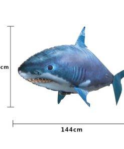Remote Control Shark Toys Air Swimming Fish Infrared RC Flying Air Balloons Clown Fish Kid Toys 5 Awesome Remote Control Flying Shark Toy