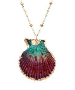 Trendy Bohemian Layers Shell Pendant Necklace Natural Gold Cowrie Chain For Women Friend Seashell Unique Gift 2 Trendy Bohemian Seashell Necklace Collection