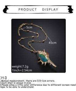 Trendy Bohemian Layers Shell Pendant Necklace Natural Gold Cowrie Chain For Women Friend Seashell Unique Gift 5 Trendy Bohemian Seashell Necklace Collection