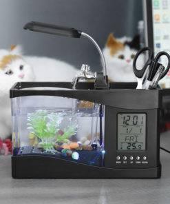 USB Desktop Mini Aquarium Fish Tank