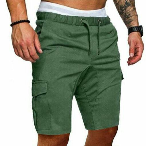Men's Summer Sports Shorts – Army Combat Cargo Short Trousers