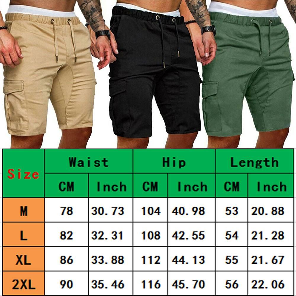 H989377451c8a47c4a6a74021f883a760m Men's Summer Sports Shorts - Army Combat Cargo Short Trousers