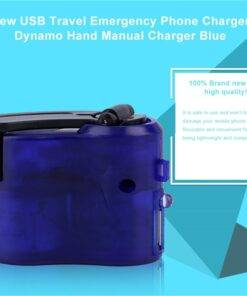 Usb Travel Emergency Hand Crank Phone Charger