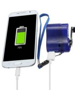 USB Travel Dynamo Manual Emergency Phone Charger