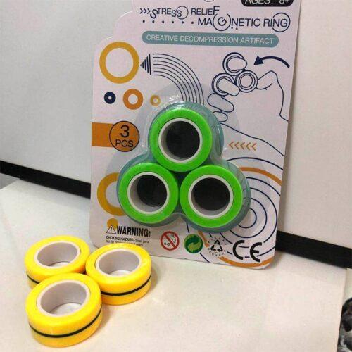 Anti-Stress Finger Magnetic Rings