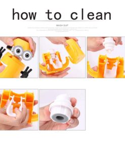 Bathroom Products Automatic Toothpaste Dispenser Cute Squeezers Bathroom Accessories Set Toothbrush Holder For Kids 4 Cute Automatic Toothpaste Dispenser For Kids