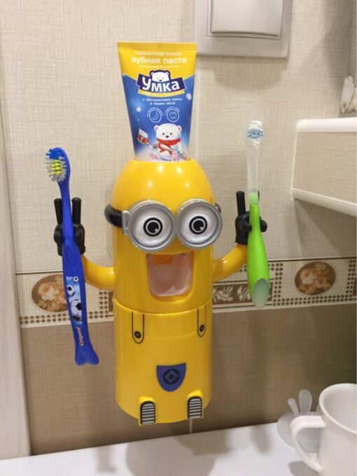 Cute Automatic Toothpaste Dispenser For Kids