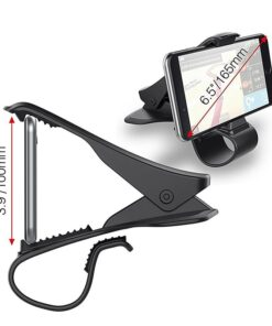 Car Phone Holder Universal 360 Mount Stand Holder for Cell Phone in Car GPS Dashboard Bracket 3 UNIVERSAL CAR PHONE CLIP HOLDER
