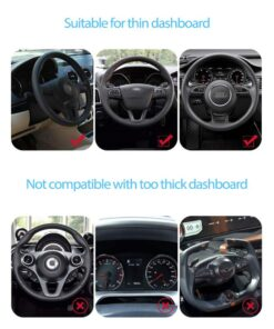 Car Phone Holder Universal 360 Mount Stand Holder for Cell Phone in Car GPS Dashboard Bracket 4 UNIVERSAL CAR PHONE CLIP HOLDER