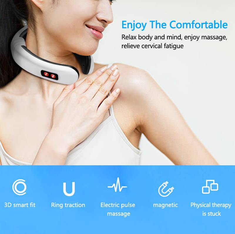 H9ca8a8b651d640c8a0cf71dc157cdf7bz 6 Modes Electric Neck Massager