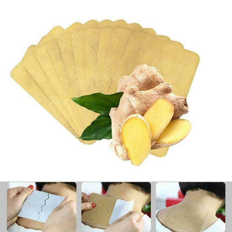 10Pcs Ginger Detox Patch