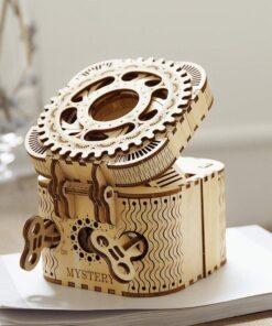 Creative Wood 3D Treasure Box