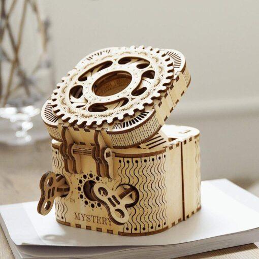 Creative Wood 3D Treasure Box Gift