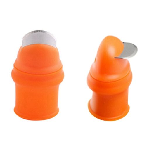 Silicone Thumb Knife – Cutting Rings Garden Gloves