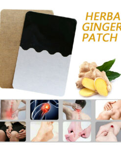 10Pcs Ginger Detox Patch Body Neck Knee Pad Pain Relief Swelling Chinese Ginger Adhesive Pads Ginger 1 10Pcs Ginger Detox Patch