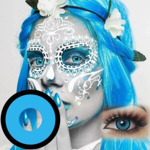Halloween Cosplay Colored Contact Lenses for Eyes