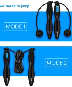 3M Digital Counting Speed Skipping Counter Wireless Jump Rope Indoor Outdoor Gym Fitness Cordless Calorie Skipping 1 NEW Wireless Jumping Rope