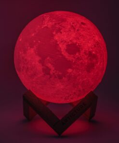 CCS949A P S3 0291 J Edit Download 16 Colors Rechargeable Remote Controlled 3D Moon Light