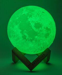 CCS949A P S3 0296 J Edit Download 16 Colors Rechargeable Remote Controlled 3D Moon Light