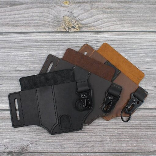 Outdoor Multitool Leather Sheath
