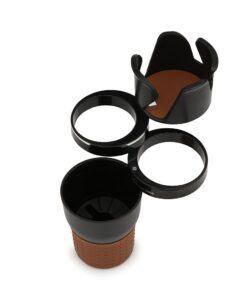 Multi Function Car Drink Cup Holder Phone Holder Storage Box Auto Sunglasses Holder Car Organizer for 4 Multifunction Car Cup Holder