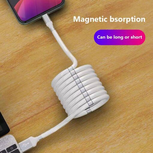MagicMagnet Fast Charging Data Cable For Iphone