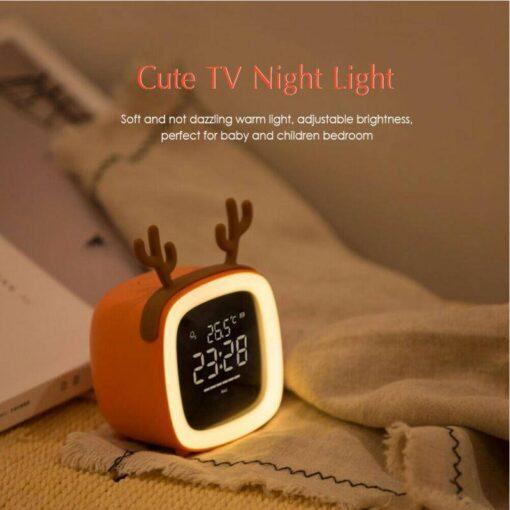 Cute TV Shaped Night Light