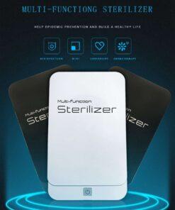 geekbuying Portable Sterilizer Box with Aromatherapy White 845071 Portable Smartphone Sanitizer