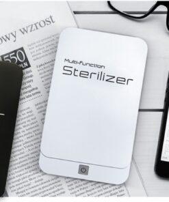 geekbuying Portable Sterilizer Box with Aromatherapy White 845073 Portable Smartphone Sanitizer