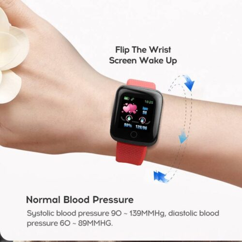 Fitness Tracker Watch  Waterproof Sport For Android IOS