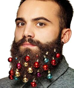 12PCS Christmas Beard Ornament