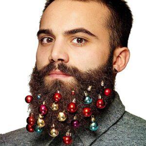 12PCS Christmas Beard Ornament