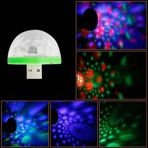 USB Mini Mushroom Disco Light