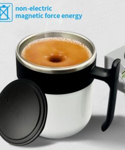 Magnetic Self Stirring Temperature Control Mug