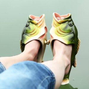 Family Funny Fish Slippers