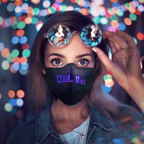 LED Luminous Mask Mobile Phone APP